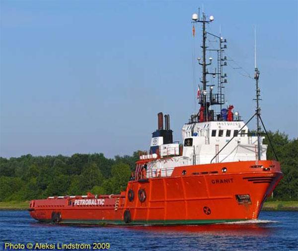 Ahts Anchor Handling Tug Supply Vessel