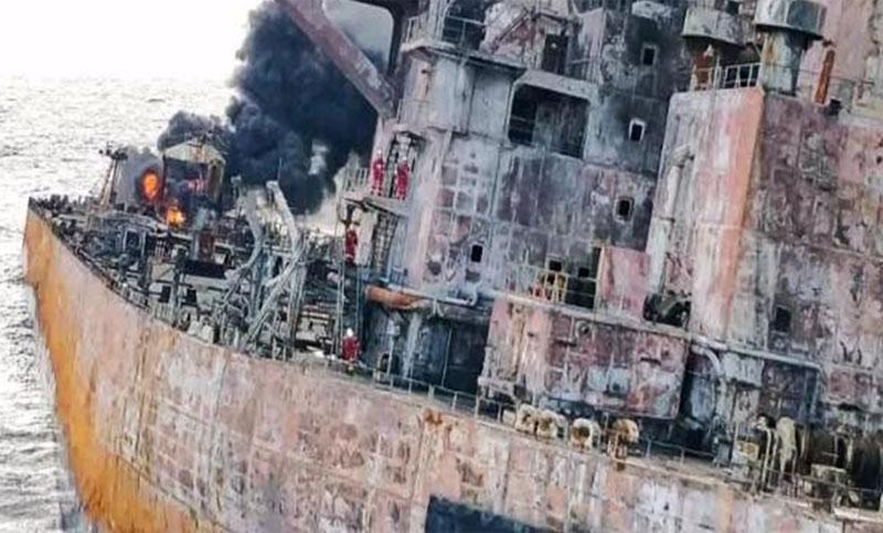 Explosion On Cargo Tank