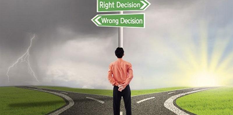 Man Decision Making