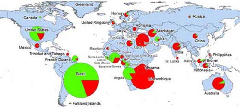 Map Deepwater Shallow Water